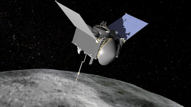 Зонд OSIRIS REx. Иллюстрация NASA/GSFC