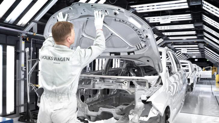 Производство Skoda Rapid в Калуге. Фото Volkswagen