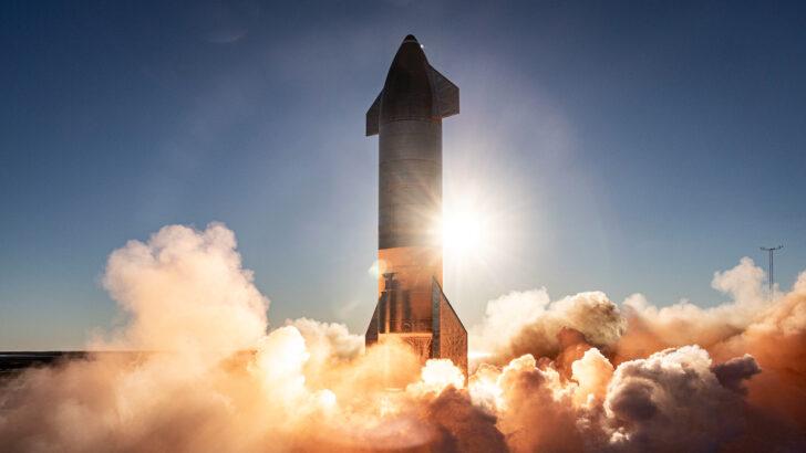 Прототип корабля Starship. Фото SpaceX (CC BY-NC 2.0)