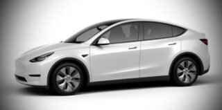 Tesla Model Y Standart Range. Фото Tesla