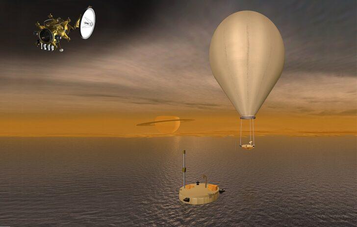 Жидкость на Титане. Иллюстрация NASA/JPL/ESA/TSSM