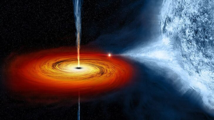 Черная дыра. Фото NASA
