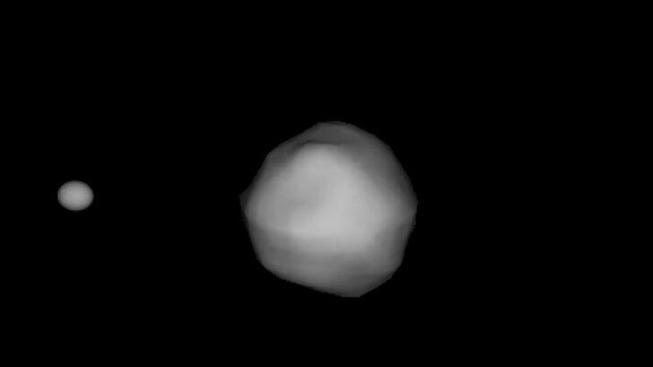Дидимос и его спутник Диморфос. Фото NASA