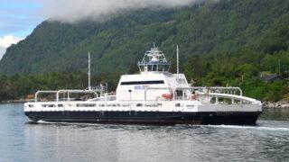 Электрический паром MV Ampere в Норвегии. Фото Wikimalte