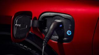 Зарядка Ford Mustang Mach-E. Фото Ford