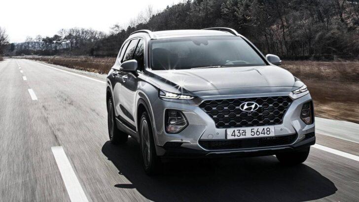 Hyundai Santa Fe. Фото Hyundai