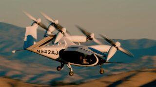Летающиее такси Joby Aviation. Кадр из видео Joby Aviation