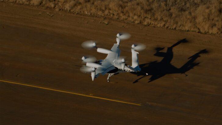 Посадка аэротакси. Кадр из видео Joby Aviation