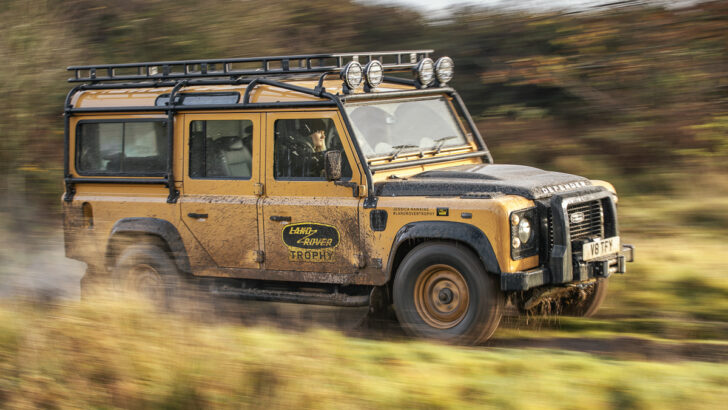 Land Rover Defender Works V8 Trophy. Фото Land Rover