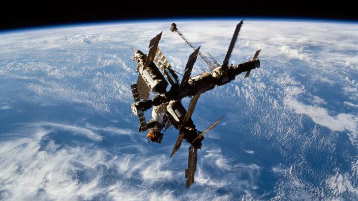 Космическая станция «Мир». Фото NASA