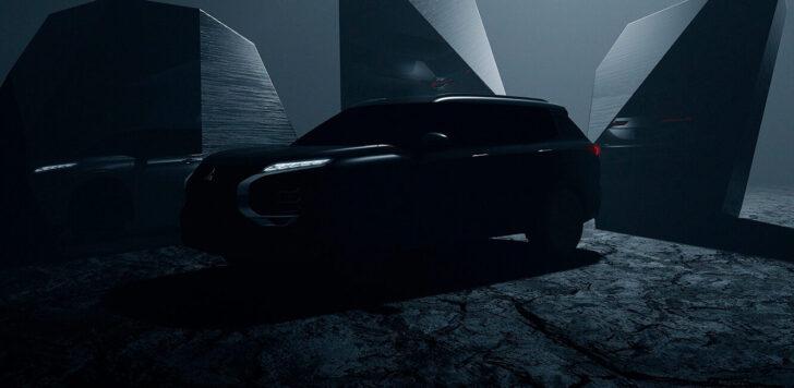 Новый Mitsubishi Outlander. Фото Mitsubishi