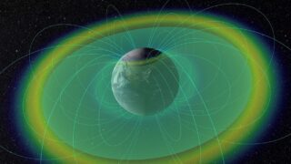 Пояса Ван Аллена. Фото NASA