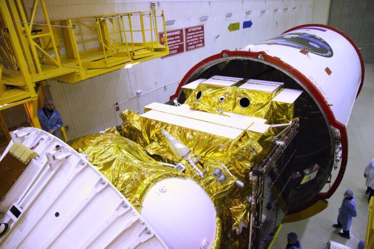 Стыковка ракетоносителя. Фото Роскосмос