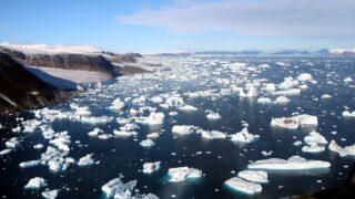 Таяние ледников. Фото Brocken Inaglory