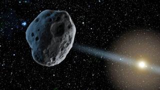 Астероид. Фото NASA