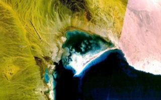 Спутниковое фото поселка Беренис, расположенного на месте Античного порта Береника