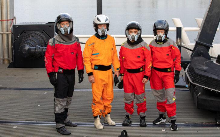 Астронавты миссии Crew-2. Фото NASA / Kim Shiflett