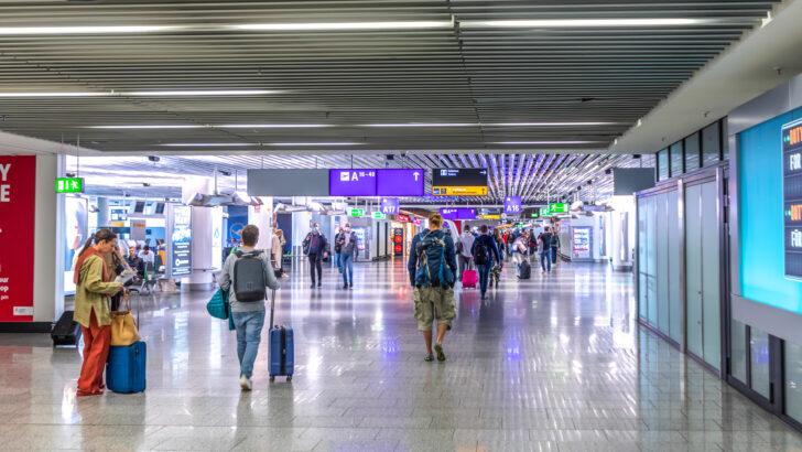 Аэропорт Франкфурта, Германия. Фото Hackman/Depositphotos.com