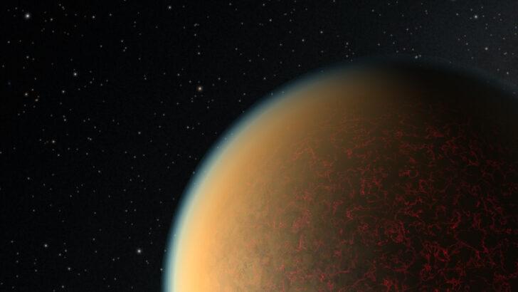 Атмосфера экзопланеты GJ 1132 b. Иллюстрация NASA, ESA и R. Hurt (IPAC/Caltech)