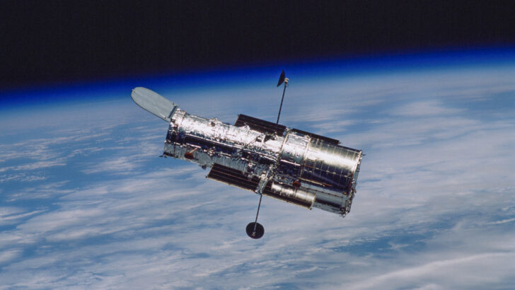Телескоп «Хаббл». Фото NASA (CC BY 2.0)