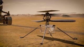 Вертолет Ingenuity. Иллюстрация NASA/JPL-Caltech