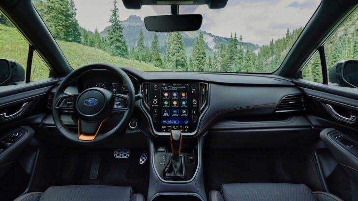 Интерьер Subaru Outback Wilderness Edition. Фото Subaru