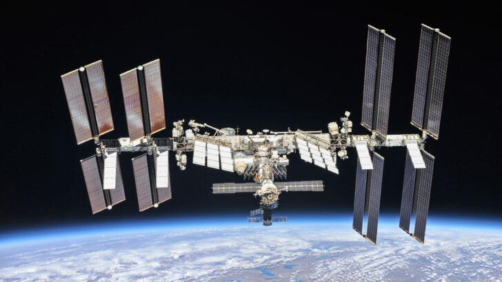 МКС. Фото NASA / «Роскосмос» (CC BY-NC-ND 2.0)