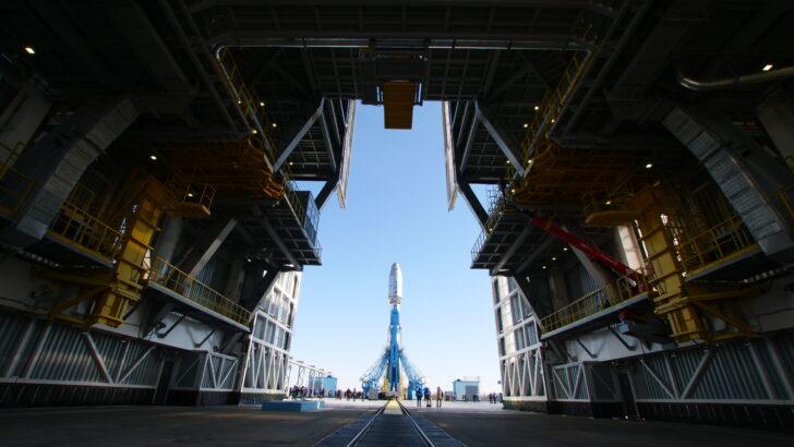 Космодром «Восточный». Фото Роскосмос
