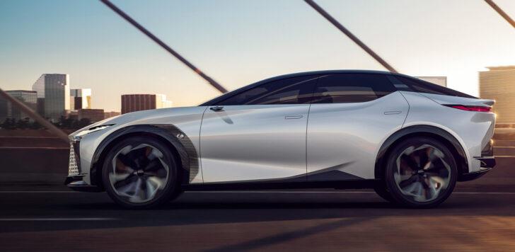 Концепт Lexus LF-Z. Фото Lexus