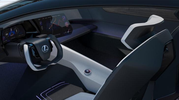 Интерьер концепта Lexus LF-Z. Фото Lexus