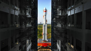 Ракета-носитель «Чанчжэн-7», 20 апреля 2017 года. Фото ChinaImages/Depositphotos.com