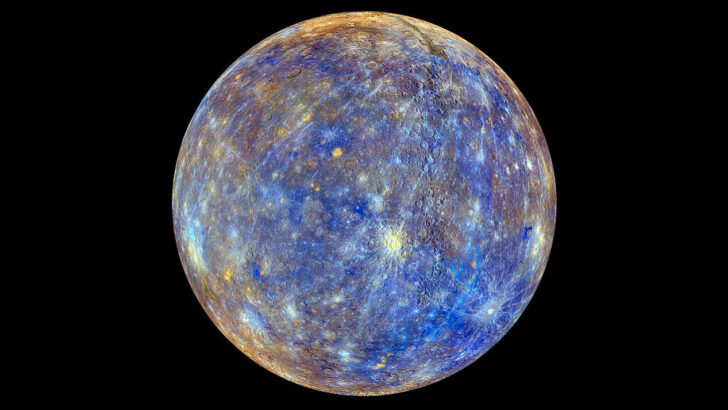 Меркурий. Фото NASA