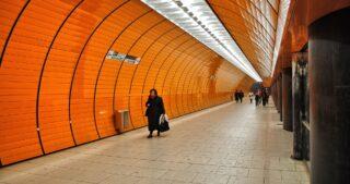Мюнхенское метро. Фото Troels Dejgaard (CC BY-SA 2.0)