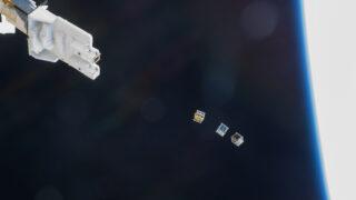 Наноспутники. Фото NASA