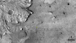 Octavia E. Butler Landing. Фото NASA/JPL-Caltech/University of Arizona
