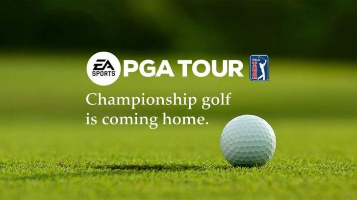 PGA Tour от EA Sports. Фото Electronic Arts