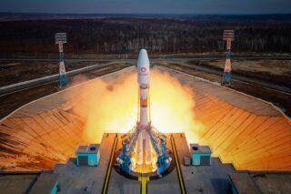 Пуск ракеты «Союз-2.1б». Фото Роскосмос