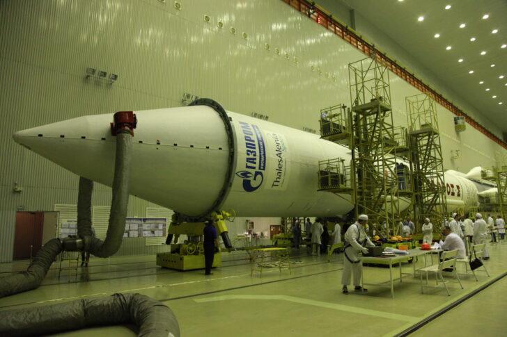 Ракета-носитель «Протон-М». Фото Роскосмос