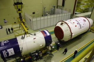 Ракета-носитель «Союз-2.1а». Фото Роскосмос