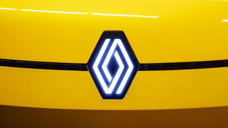 Новый логотип Renault. Фото пресс-службы Renault