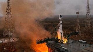 Запуск «Союз-2.1а». Фото Главкосмос Пусковые Услуги / Роскосмос