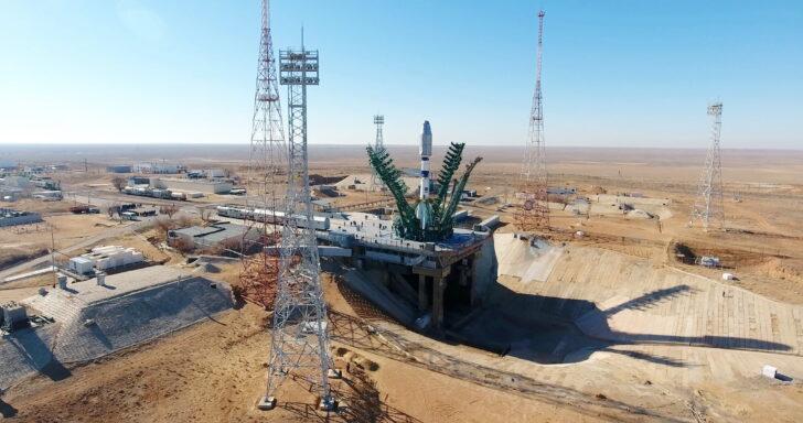 «Союз-2.1а» на Байконуре. Фото Роскосмос