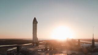 Starship SN9. Фото SpaceX (CC BY-NC 2.0)