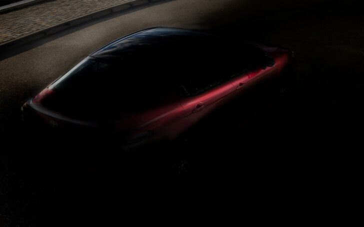 Тизер Toyota. Фото Toyota
