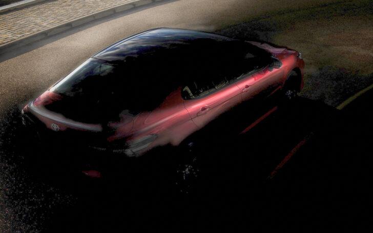 Тизер Toyota после небольшой коррекции. Фото Toyota
