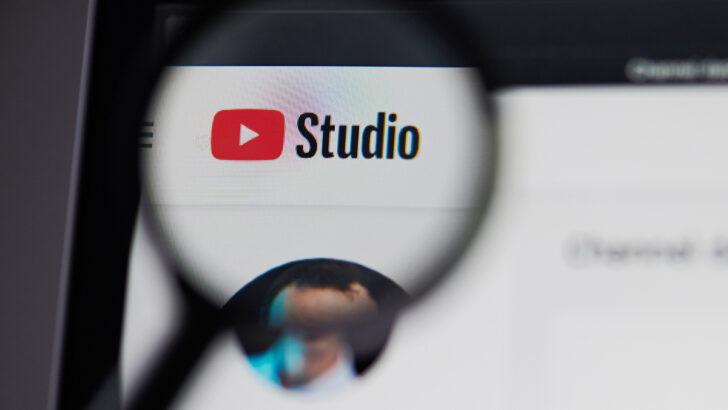 YouTube Studio. Фото PixieMe / Shutterstock.com