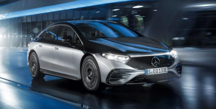 Mercedes-Benz EQS. Фото Mercedes-Benz