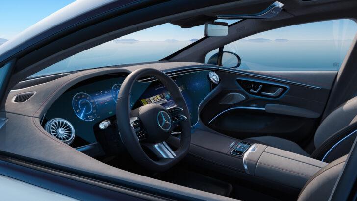 Интерьер Mercedes-Benz EQS. Фото Mercedes-Benz