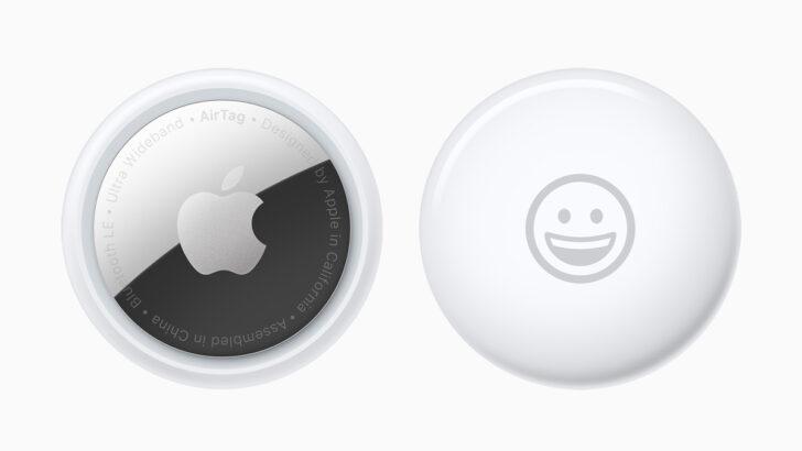 Беспроводные метки Apple AirTag. Фото Apple
