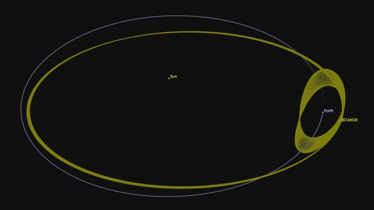 (469219) Камоалева. Иллюстрация NASA/JPL